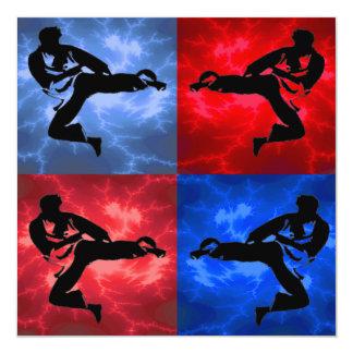 Karate Boys Birthday Party Personalized Invitation