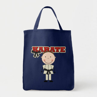 KARATE - Brunette Boy T-shirts and Gifts Canvas Bags