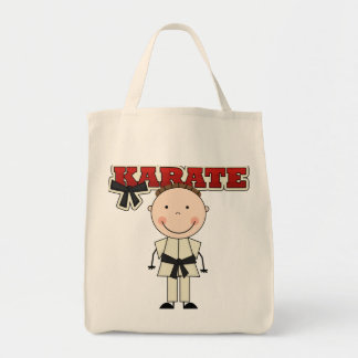 KARATE - Brunette Boy T-shirts and Gifts Tote Bag