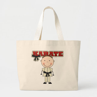 KARATE - Brunette Boy T-shirts and Gifts Tote Bags