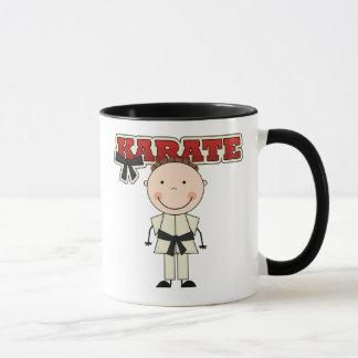 KARATE - Brunette Boy T-shirts and Gifts Mug