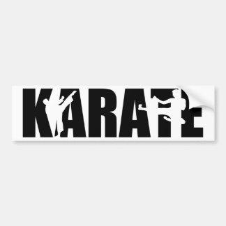 Karate Bumper Sticker