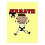 KARATE - camisetas afroamericanas y regalos del mu Tarjetas Postales
