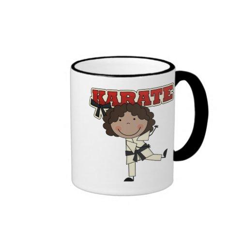 Karate - camisetas afroamericanas y regalos del taza de dos colores