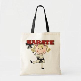 KARATE - camisetas y regalos rubios del chica Bolsas