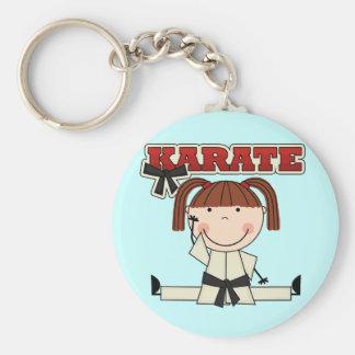 KARATE - camisetas y regalos triguenos del chica Llaveros