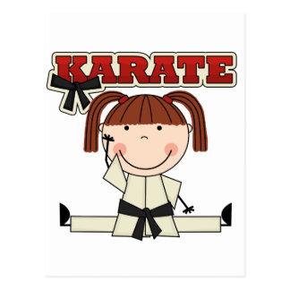 KARATE - camisetas y regalos triguenos del chica Postales