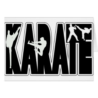 KARATE CARD