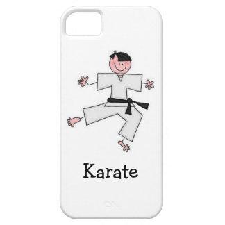 Karate cartoon iPhone 5 Case