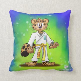 Karate Cartoon Pillow