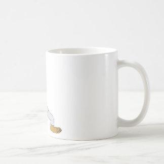 Karate-Cat Classic White Coffee Mug