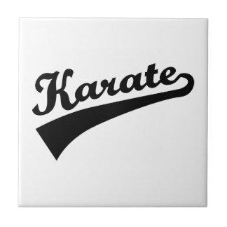 Karate Ceramic Tile