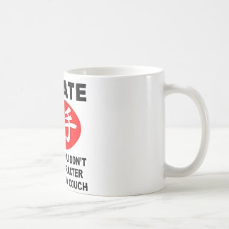 Karate Character Classic White Coffee Mug