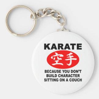 Karate Character Key Chain