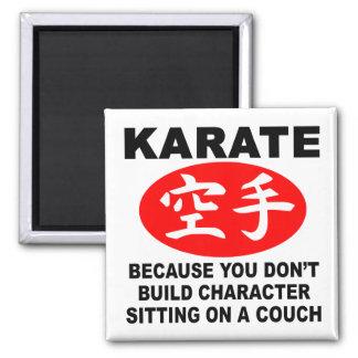 Karate Character Refrigerator Magnet