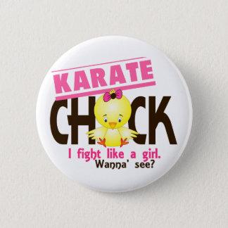 Karate Chick 1 Pinback Button