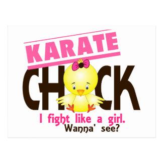 Karate Chick 1 Postcard