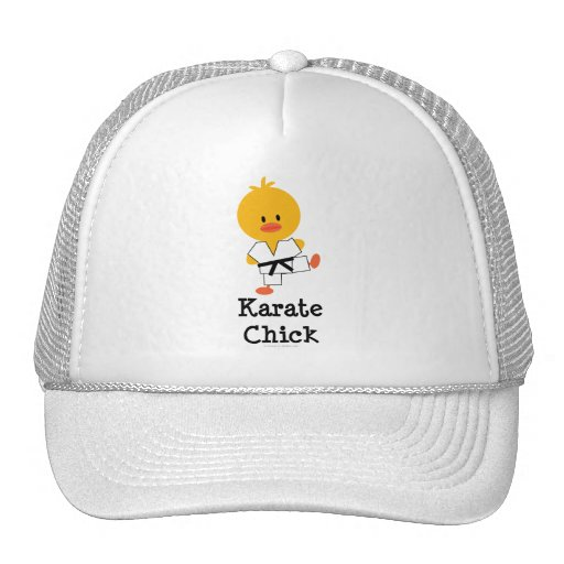 Karate Chick Hat