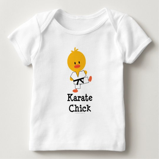 Karate Chick Long Sleeve Infant T-shirt