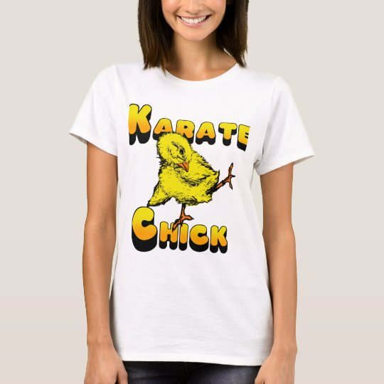Karate Chick Martial Arts Gift T-Shirt