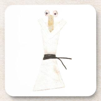 Karate Chopstick Cork Coasters