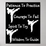 karate class print