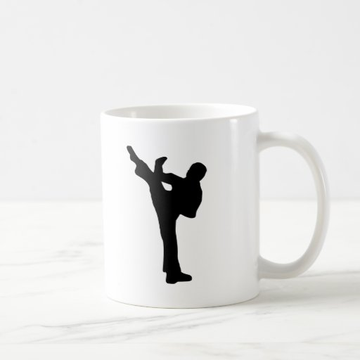 Karate Classic White Coffee Mug