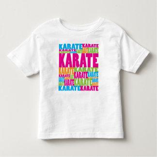 Karate colorido t-shirts