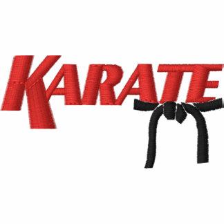 karate con la correa negra