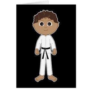 Karate Congratulations Black Belt Card