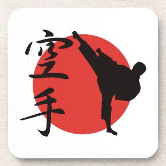 Karate Beverage Coasters