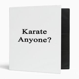 Karate cualquier persona