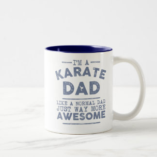 Karate Dad Mug (Blue)