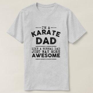 Karate Dad Vintage (Black) T-Shirt