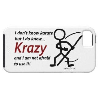 Karate de Krazy iPhone 5 Cárcasa
