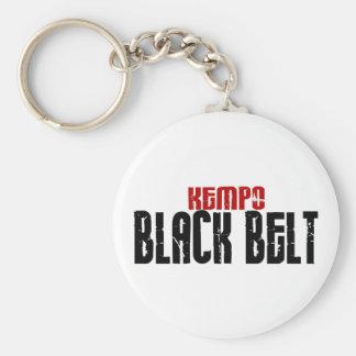 Karate de la correa negra de Kempo Llaveros Personalizados