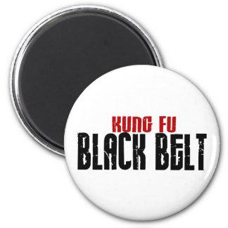 Karate de la correa negra de Kung Fu Imanes