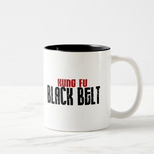 Karate de la correa negra de Kung Fu Tazas