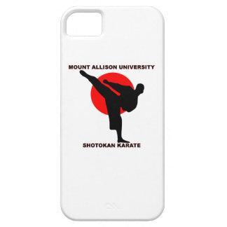 Karate de Shotokan de la universidad de Allison iPhone 5 Funda