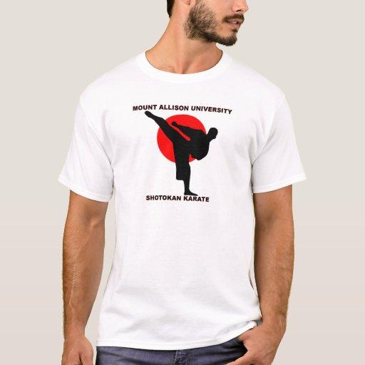 Karate de Shotokan de la universidad de Allison Playera