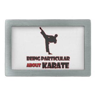karate Designs Belt Buckles