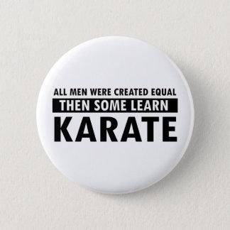 karate designs button