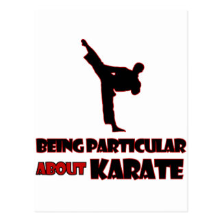 karate     Designs Postcard
