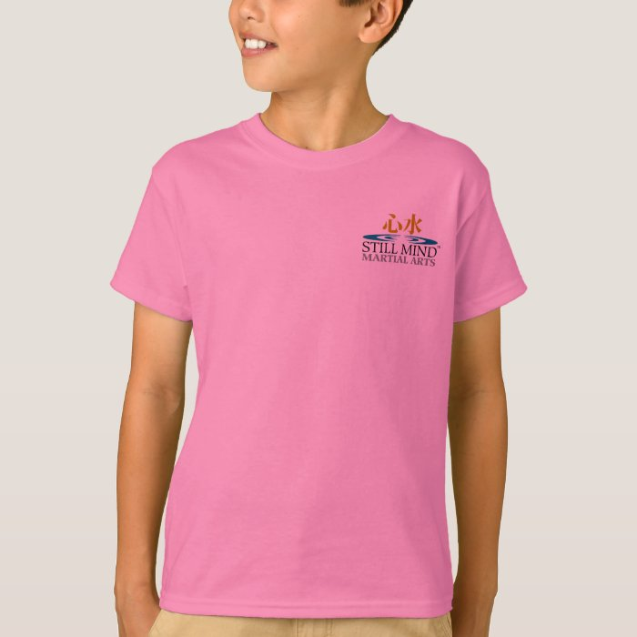 Karate do front back personalized kid 39 s t shirts zazzle for Custom photo t shirts front and back