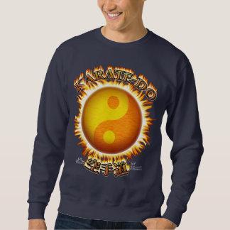 Karate-do Front Dark Sweatshirts