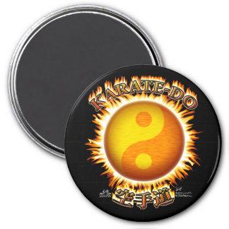 Karate-do Yin/Yang Sun Magnets