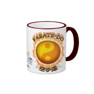 Karate-do Yin/Yang Sun Ringer Mug