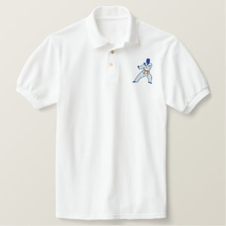 KARATE EMBROIDERED SHIRT