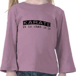 Karate es camiseta