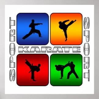 Karate espectacular póster